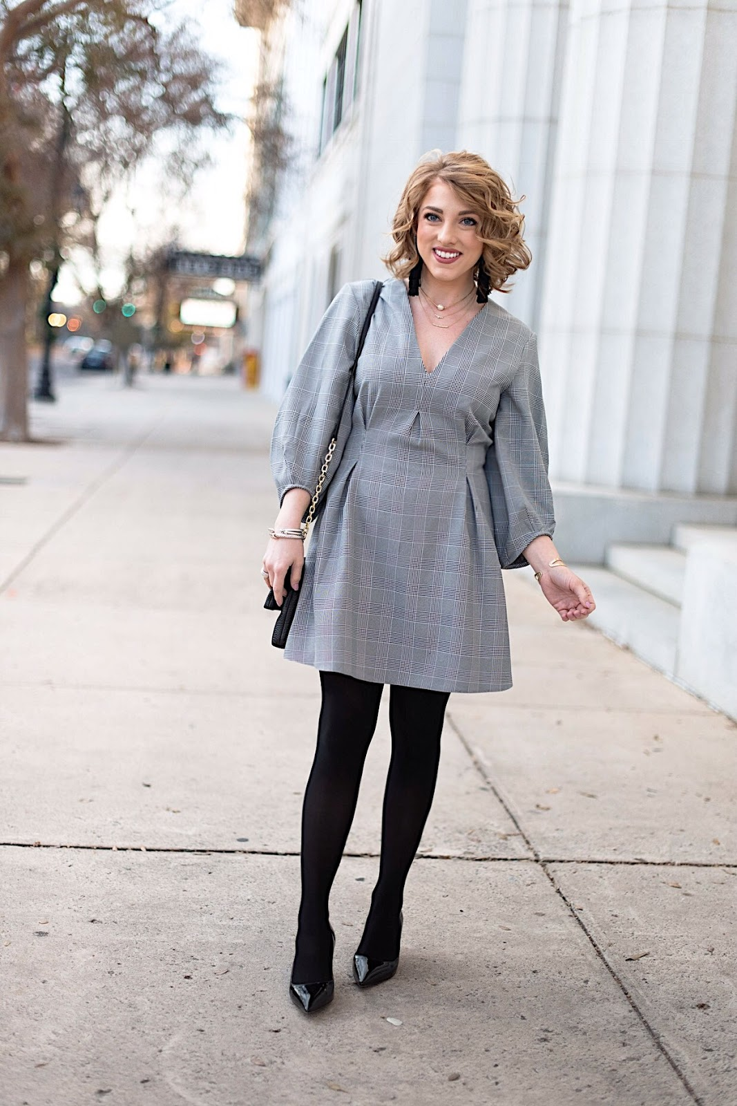 The perfect winter dress for work, church, date night and more - Something Delightful Blog