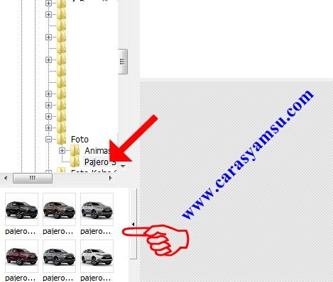 Buka Folder Foto/Gambar Format GIF