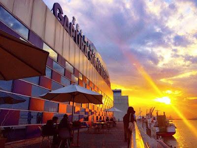 sunset surabaya north quay
