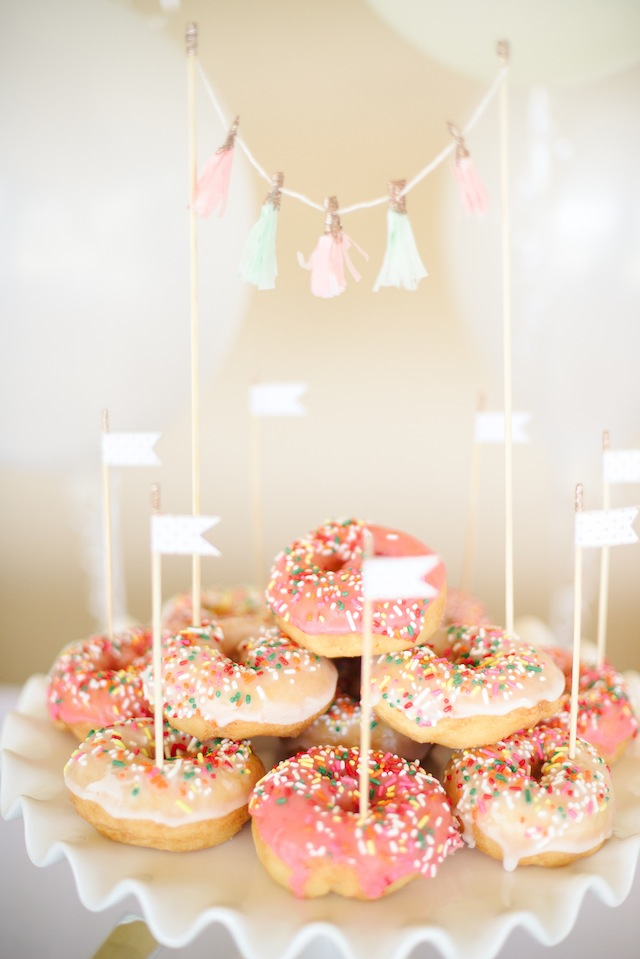 Fawn Over Baby Quot Daphne S Donut Shop Quot Birthday Party By