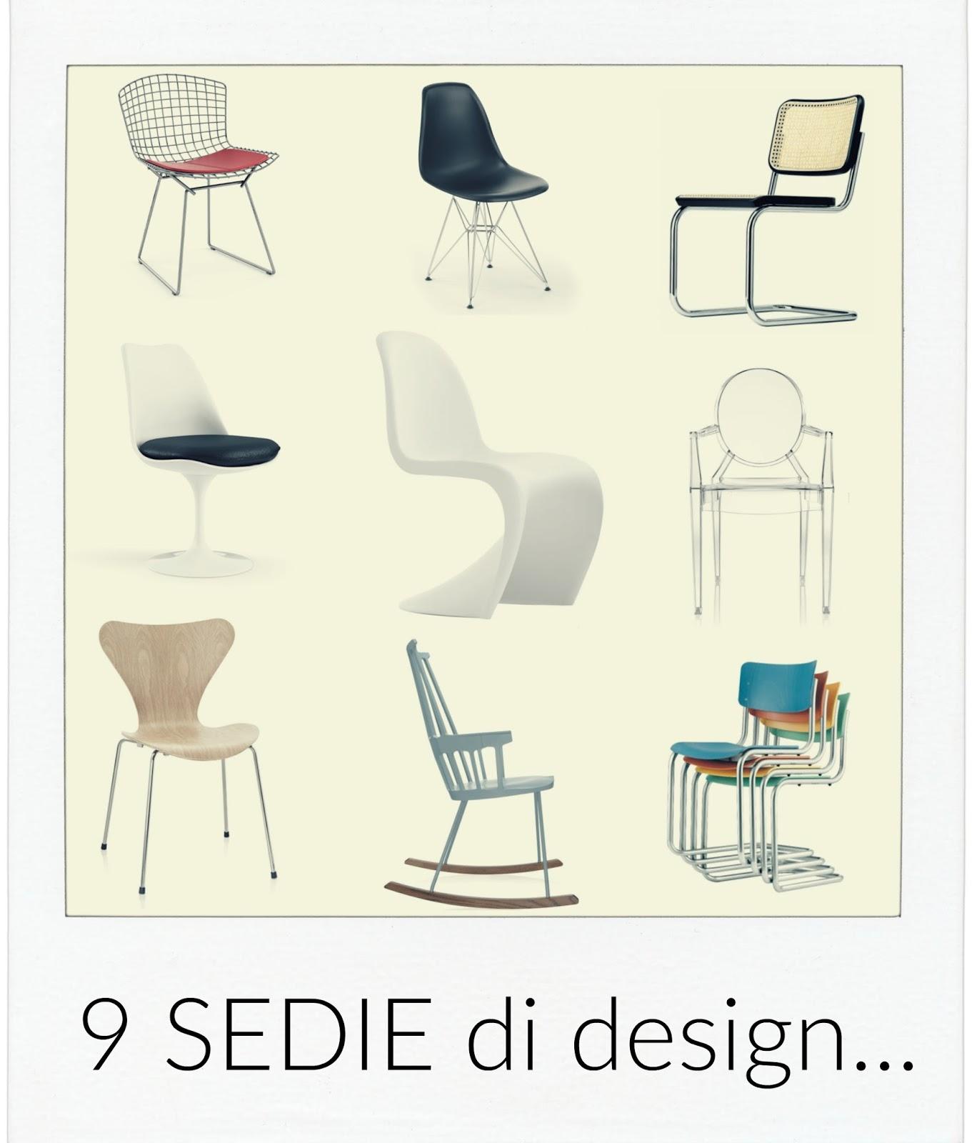 Sedie Design Piu Famose | Oostwand