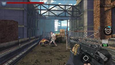 لعبة صيد الموتى الأحياء Zombie Hunter مهكرة للأندرويد
