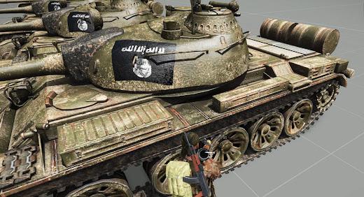 Arma3用イスラム国とヌスラ戦線アドオン