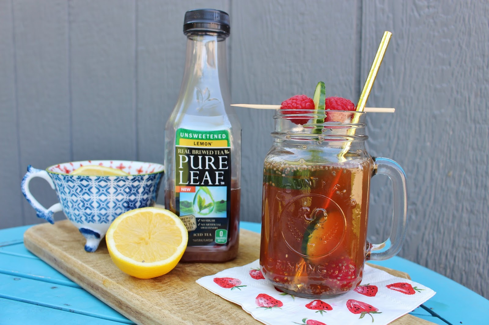 Pure leaf unsweetened iced tea recipes - teanergizer drink