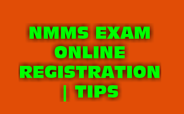NMMS EXAM 2018 - ONLINE REGISTRATION TIPS ( STEP BY STEP INSTRUCTION )