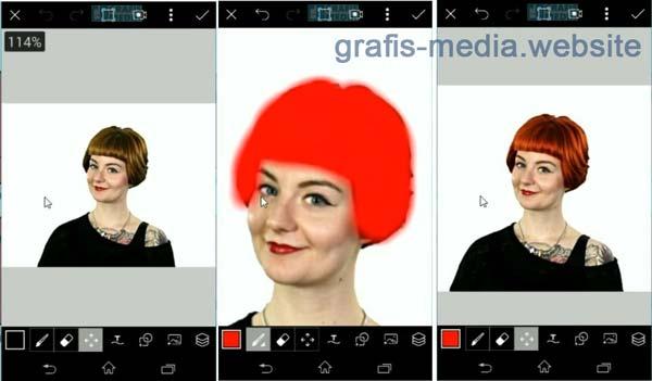 aplikasi mengedit warna rambut untuk android 3 Aplikasi Mengedit Warna Rambut Untuk Android