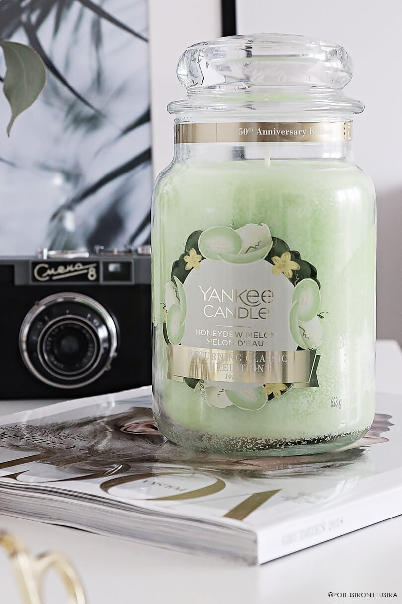 yankee candle honeydew melon 50th anniversary collection