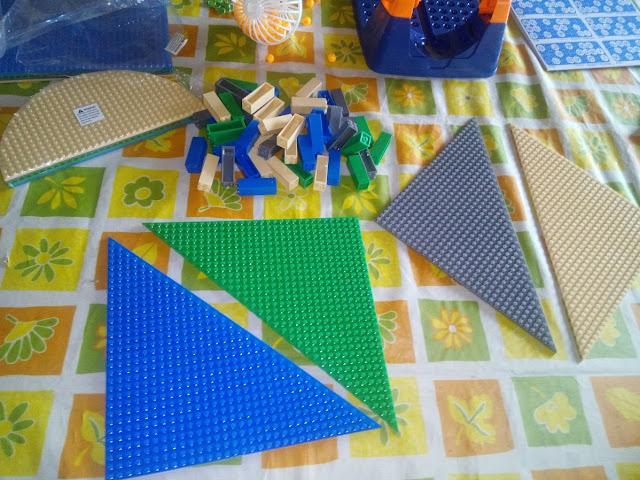 Bases triangulo Lego