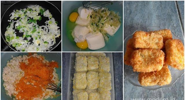 Nugget biasanya dibentuk dengan materi utama daging ayam Resep Nugget Tahu. Camilan Bergizi Untuk Anak-Anak