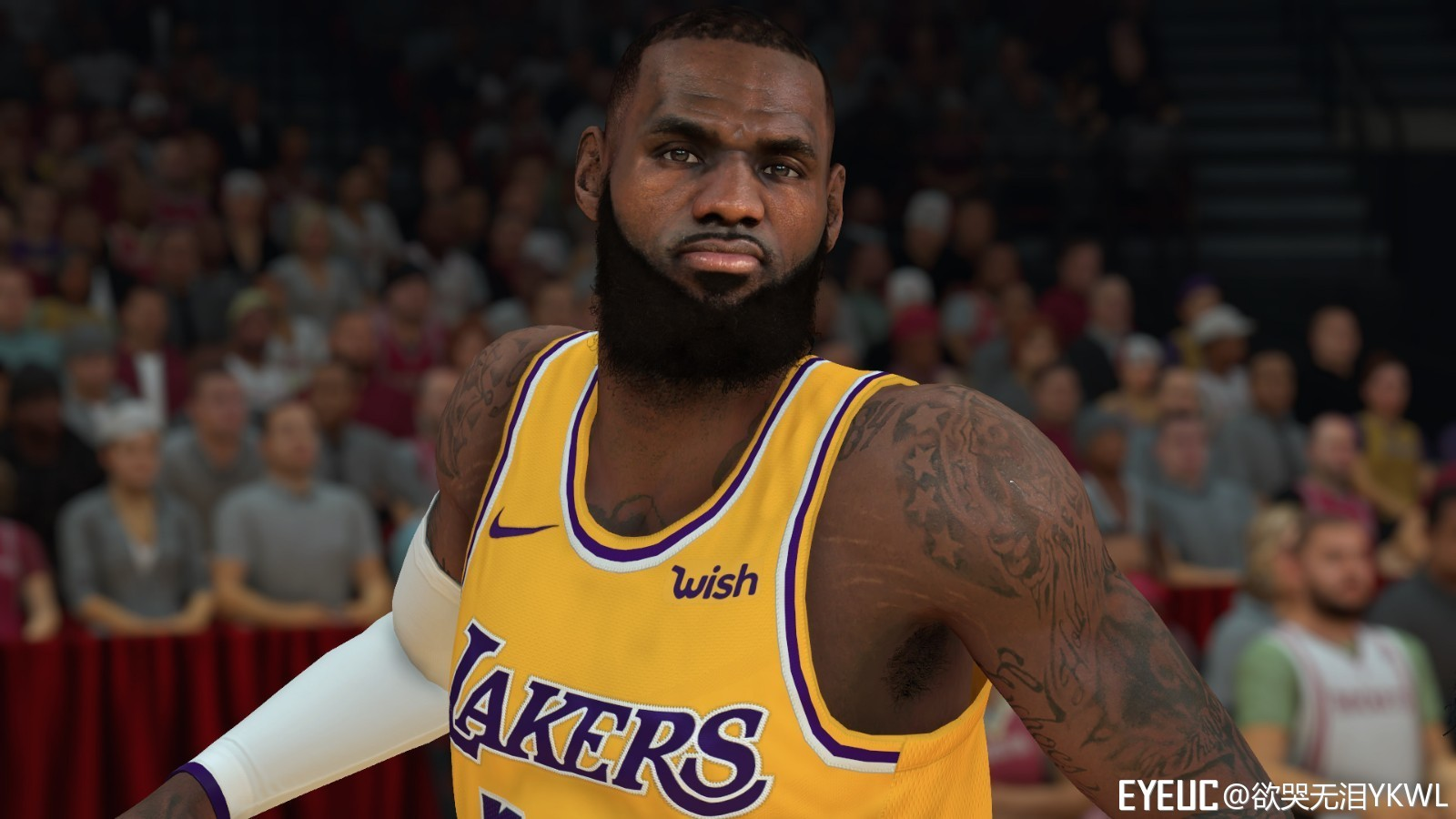 5c1f20db8252 NBA 2K19 LeBron James Realistic Cyberface by YKWL RELEASED ...
