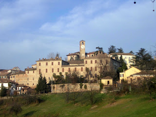 The village of Neive in Piedmont is at the heart of an important wine production area