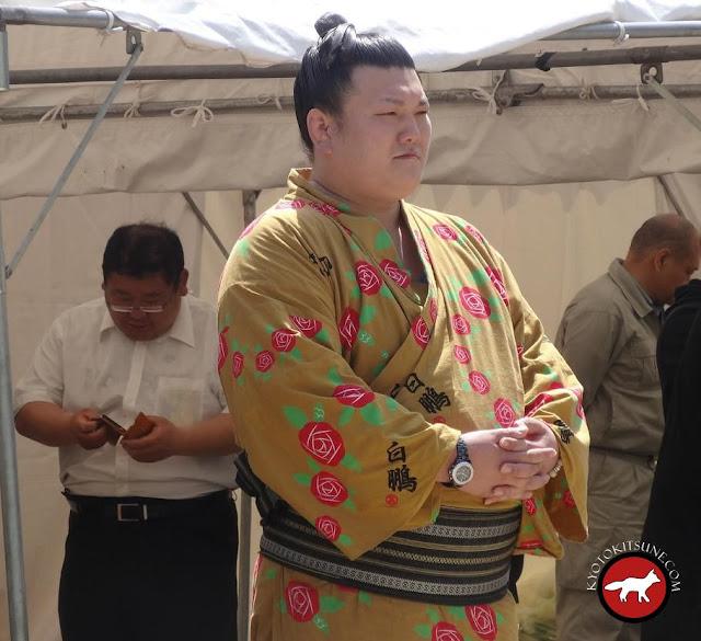 sumo Ikioi à Fushimi Kyoto