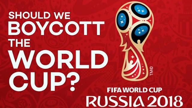Aksi Boikot Piala Dunia 2018 Rusia