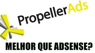Ganhe com seu blog Programa de Afiliados Propeller Ads Media CPM