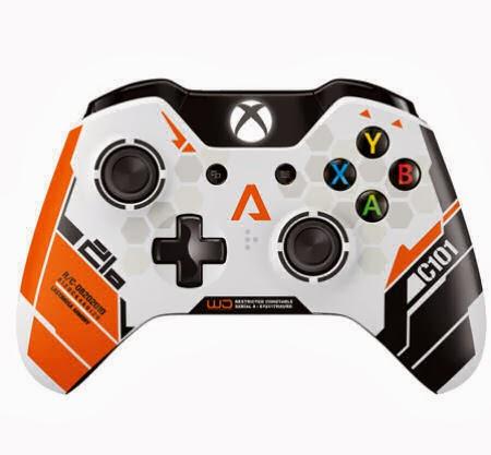 Titanfall Oyunu İçin Özel Olarak Tasarlanan Xbox One Kontrolcüsü