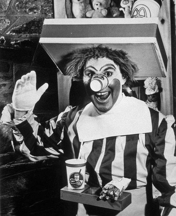 The original Ronald McDonald, 1963