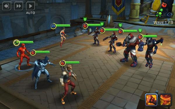 مهمة بداخل لعبة DC Legends