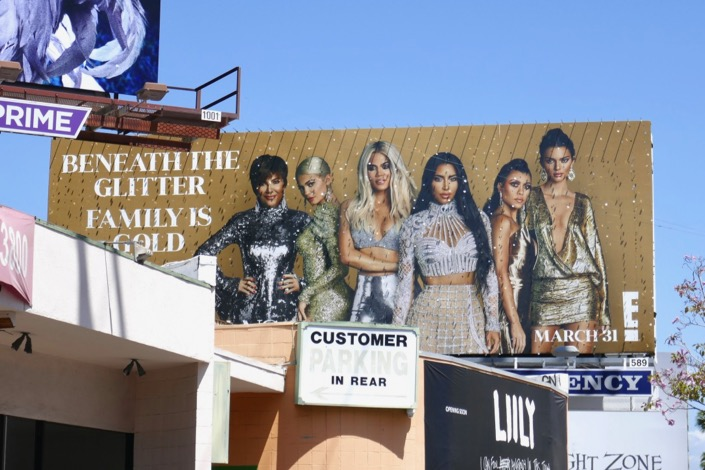 Keeping Up Kardashians season 16 billboard