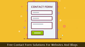 A web contact form sketch