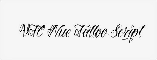 VTC Nue 12 Best Tattoo Fonts For A Name