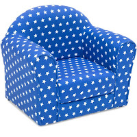 Best Choice Products Kids Star Patterned Sofa Chair Couch W