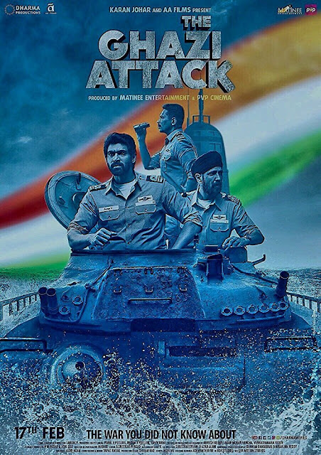 The Ghazi Attack (2017) ταινιες online seires oipeirates greek subs