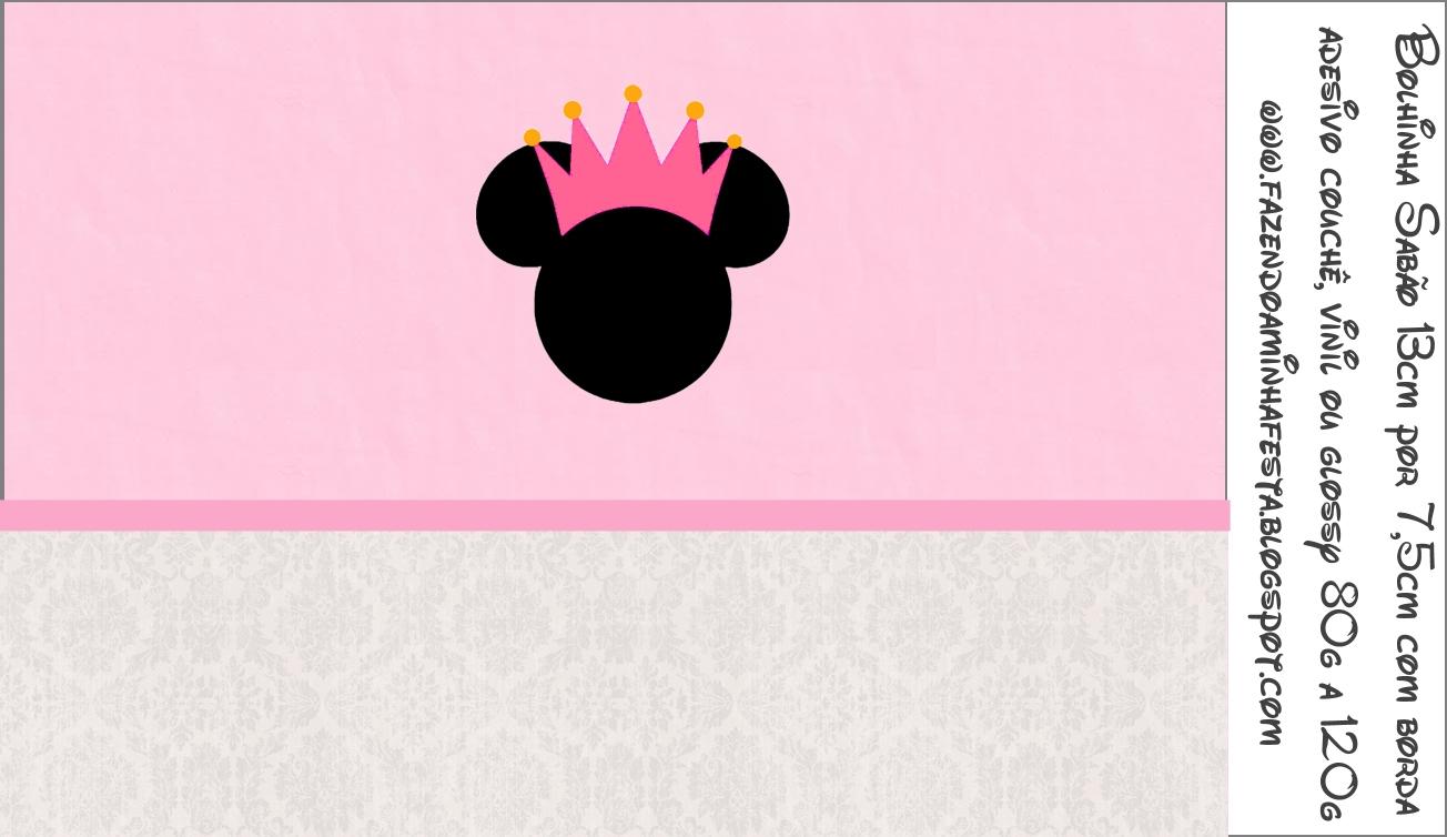 De Baby Shower Minnie Invitaciones Para Como Mouse Hacer