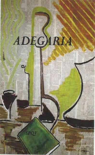 "Livro de poesias ""Adegaria"""