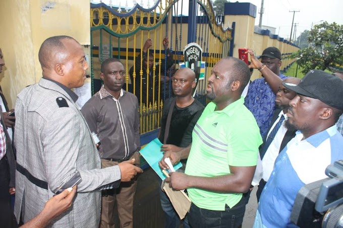 SARS Operatives Threat to Kill Governor Wike's Aide: Rivers Youths Protest to State Police Command