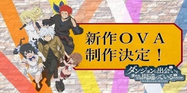Dungeon ni Deai wo Motomeru no wa Machigatte Iru Darouka (DanMachi) OVA