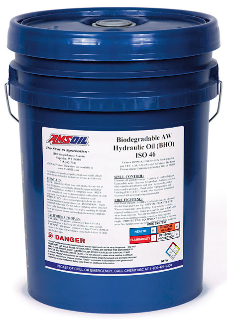 hydraulic oil, biodegradable, amsoil