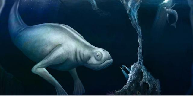 مخلوقات غامضة : مخلوق أنتاركتيكا الغامض