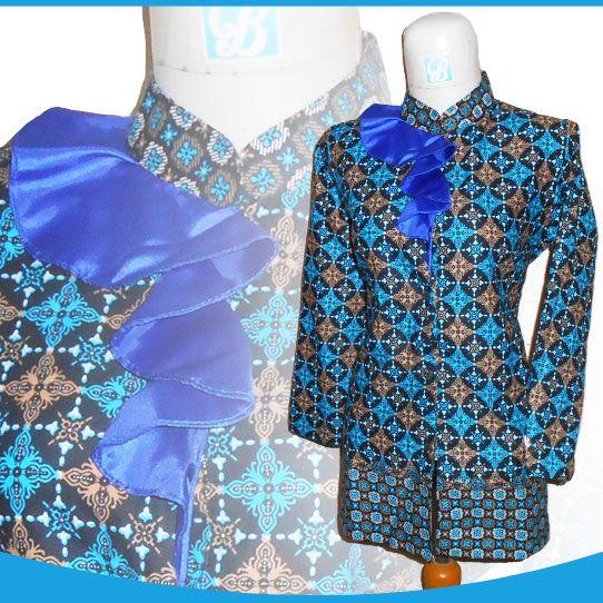 Model Baju Batik Lengan Panjang Modern: 10+ Model Baju Batik Wanita Lengan Panjang Modern