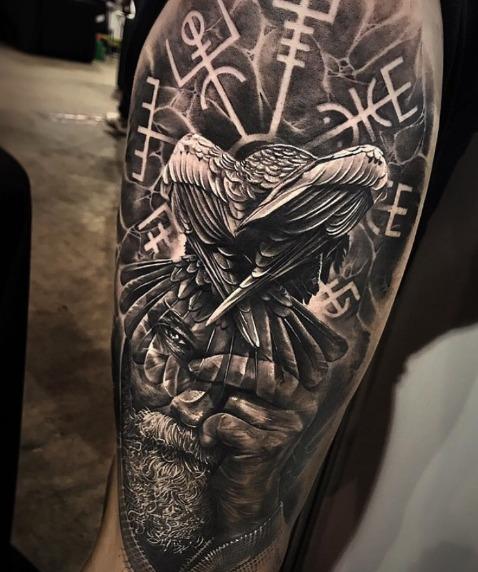 60 Tatuajes De Odin Y Su Significado Belagoria La Web De Los