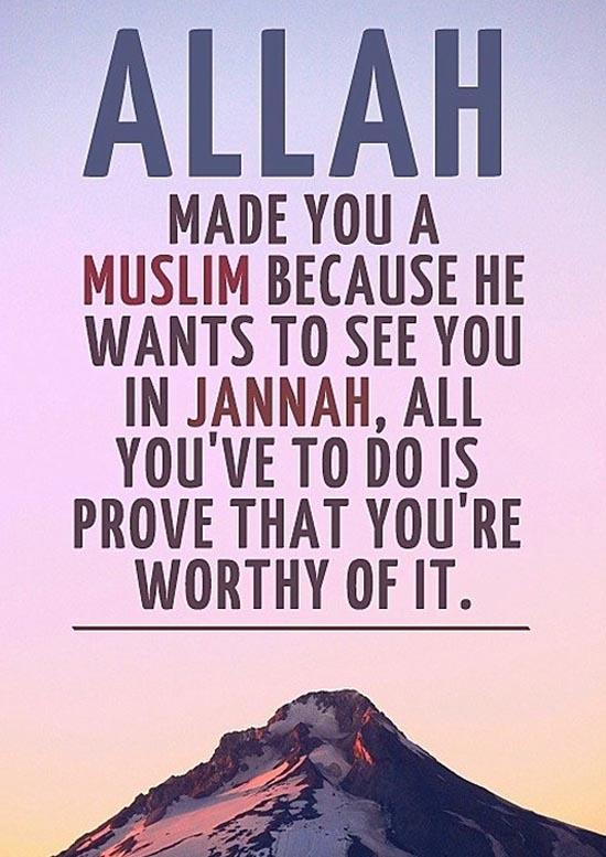 Tazkirah Jumaat #36 : Muslim & Jannah