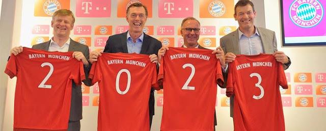 El Bayern renueva con Telekom