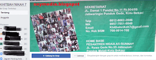 Daftar Grup Kontak Jodoh(Taaruf) Lewat facebook