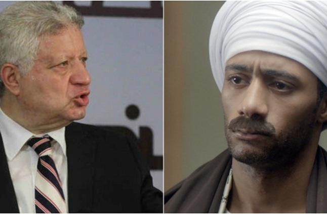 رد قاسي من محمد رمضان على إهانة مرتضى منصور له