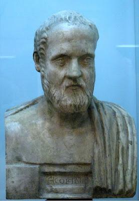 Προτομή του Ισοκράτη στο   Μουσείο Καλών Τεχνών Πούσκιν.