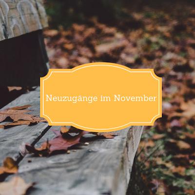 Neuzugänge im November 2016