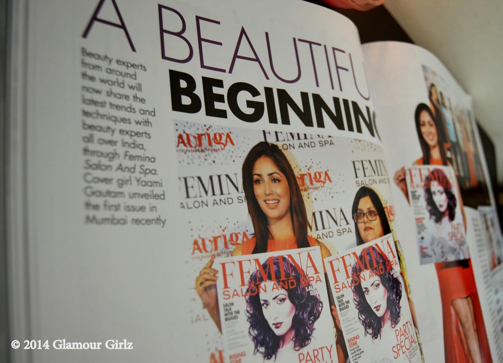 Yami Gautam, Femina Salon & Spa in December 2013