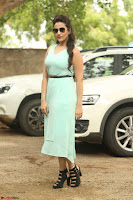 Manjusha in beautiful thin green gown At Jaya Janaki Nayaka le Logo Launch ~  Exclusive 118.JPG