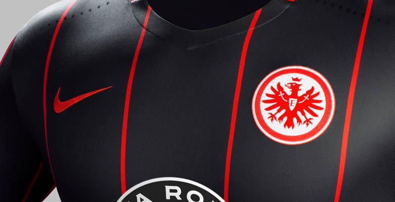 54232e43b7b Nike Eintracht Frankfurt 15-16 Kits Released - CR7 Gold