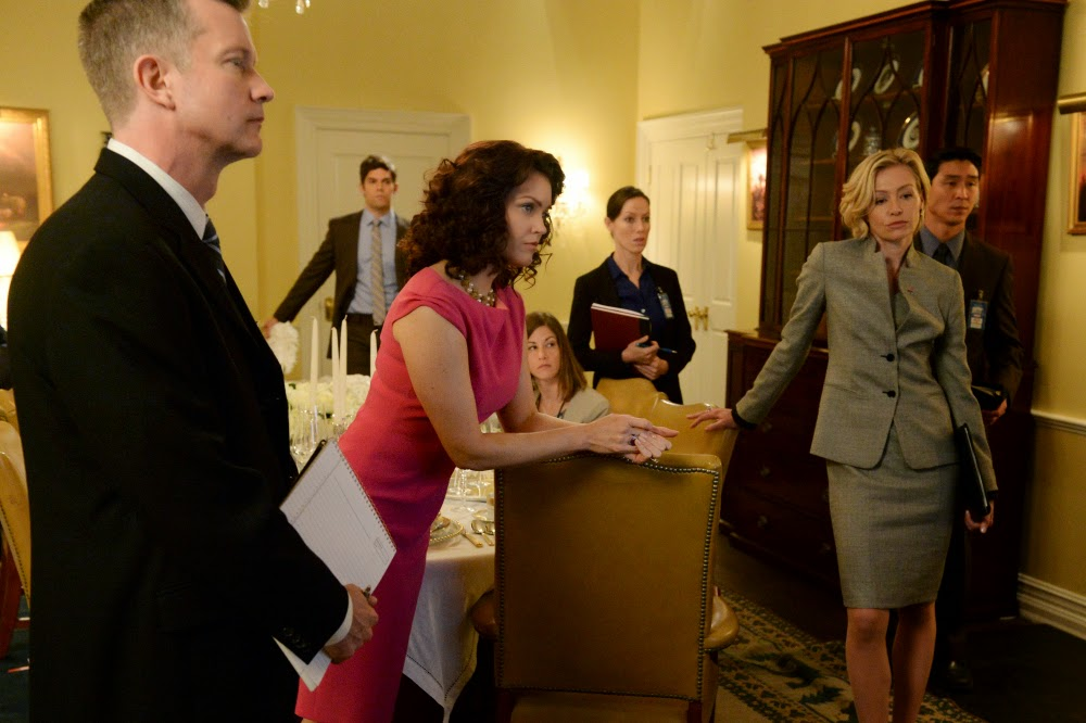 Scandal 4x17 Put a Ring on It Mellie Lizzie