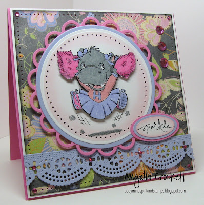 Card Designer Angie Crockett from Body, Mind, Spirit and Stamps!