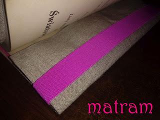 cross stitch book cover