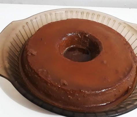 Pudim de chocolate sem forno em 40 minutos