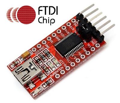 Módulo Bluetooth HC-05 e conversor FTDI 232RL