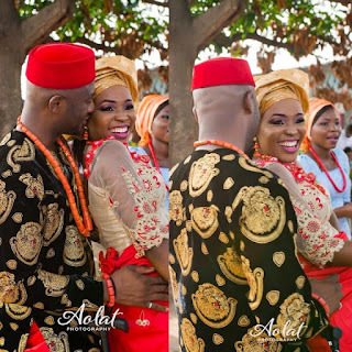 This couple's Igbo traditional marriage ceremony got people talking