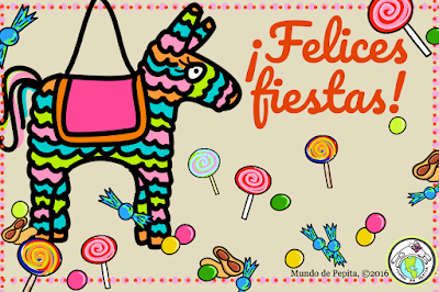 Spanish holiday e card downloadable for free